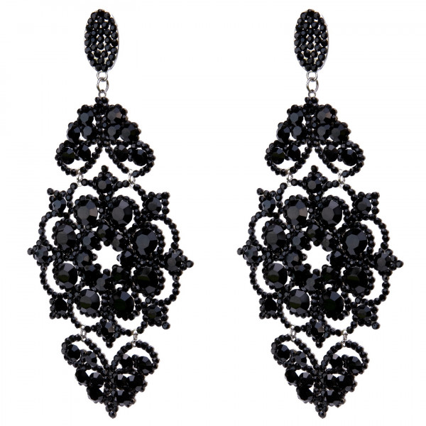 GIULIETT BELLA CZECH CRYSTAL BLACK